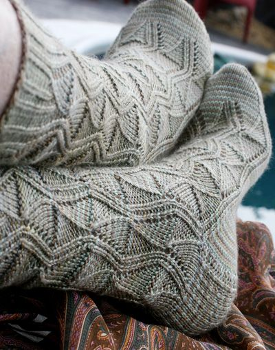 Knit socks - I love these and I think I'm finally getting good enough to tackle this pattern.
