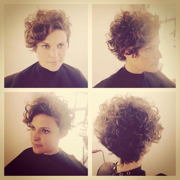 Top 12 der schönsten Optionen für kurzes lockiges Haar #Kurze Frisuren # Frisuren … #Schön #Lockige #Frisuren #Optionen