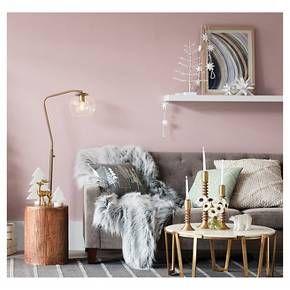 Sour Cream Multi Tree Pastel Throw Pillow - Threshold™ : Target
