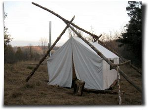 Canvas Wall Tents From Capital Canvas Bunkie Cottage
