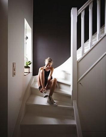 peindre les escaliers