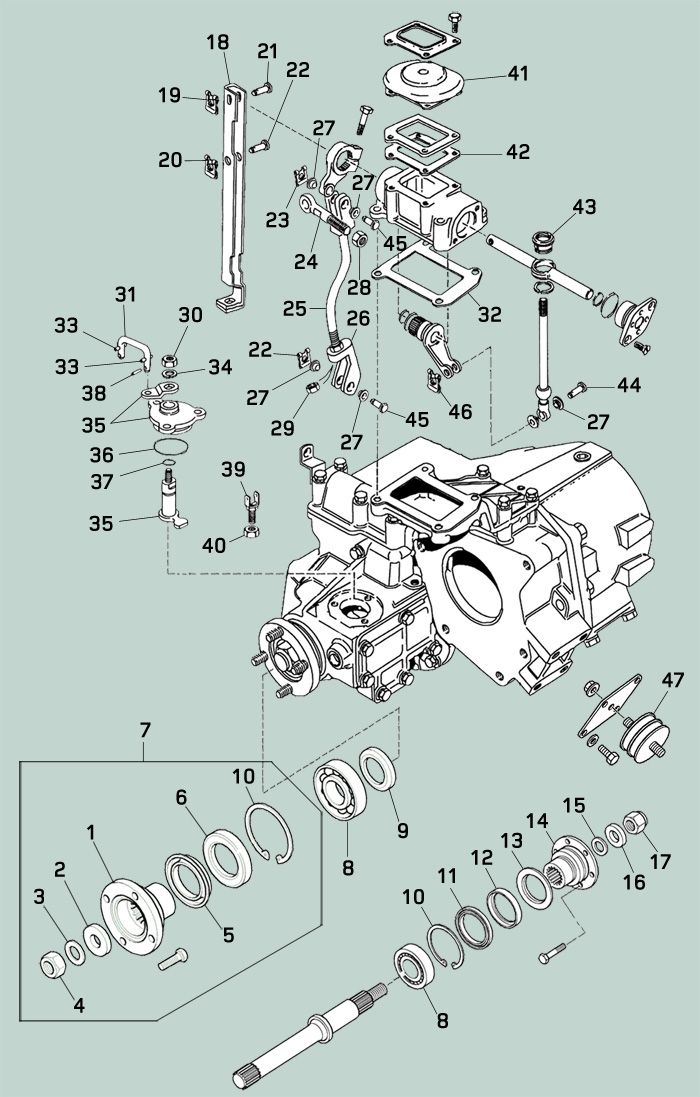 land rover defender 90 rear wiring diagram defender transfer case rovers north land rover parts and  defender transfer case rovers north