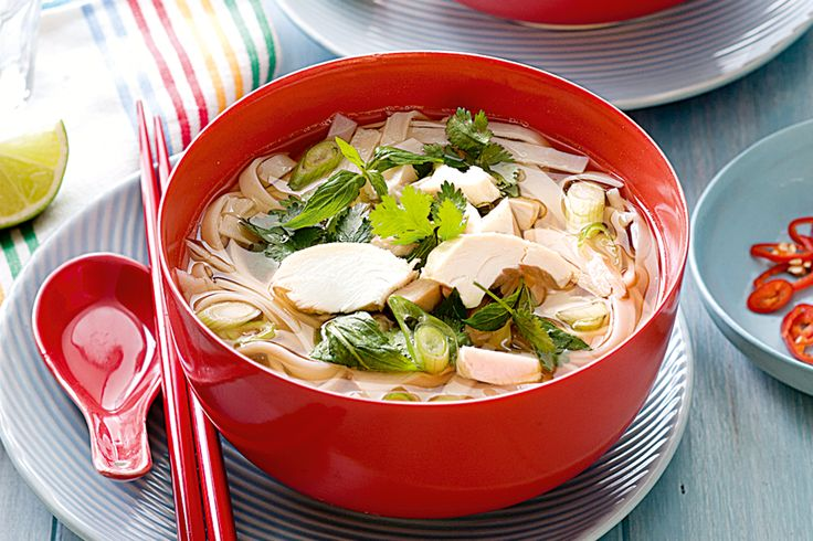 Vietnamese chicken pho http://www.taste.com.au/recipes/30105/vietnamese+chicken+pho
