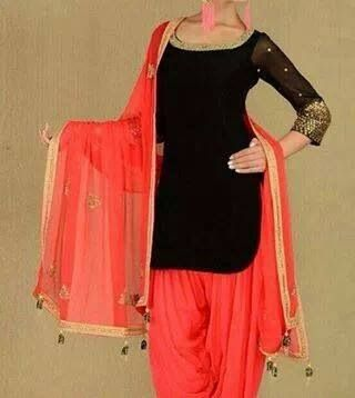 Beautiful punjabi dress ..