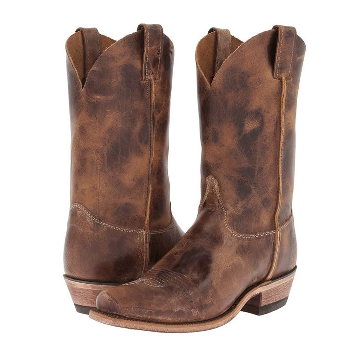 Tan Road Men's Western Boot by Justin