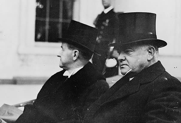 compare the presidential leadership of harding coolidge and hoover China leadership monitor  lepore is on sound ground when she attacks harding and coolidge for their 1920s legislation that isolated the american economy from the.