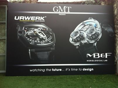 URWERK is pleased to be exhibiting with MB&F at Milan Design Week, which runs 9–14th April 2013, Opificio Courtyard, Via Tortona 31, Milan