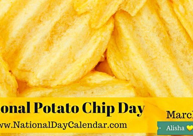 HAPPY NATIONAL POTATO CHIP DAY  #Snack/Teatime #FoodDay - 7件のもぐもぐ - HAPPY NATIONAL POTATO CHIP DAY  #Snack/Teatime #FoodDay by Alisha GodsglamGirl Matthews