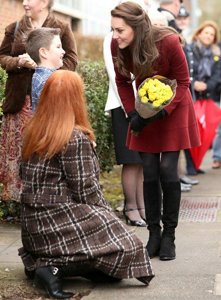 February 22, 2017: Catherine Duchess of Cambridge visited Multi-disciplinary Intervention Service Torfaen (MIST), a child and adolescent mental health project. MIST is a multiagency partnership working to help keep looked after children in Torfaen with complex needs in their local communities which is currently managed by Action for Children.