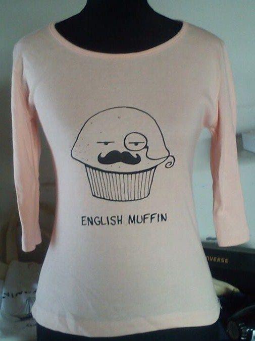 remera english muffin