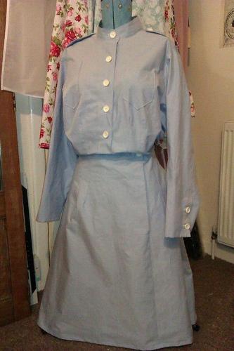 1940s nurse's uniform