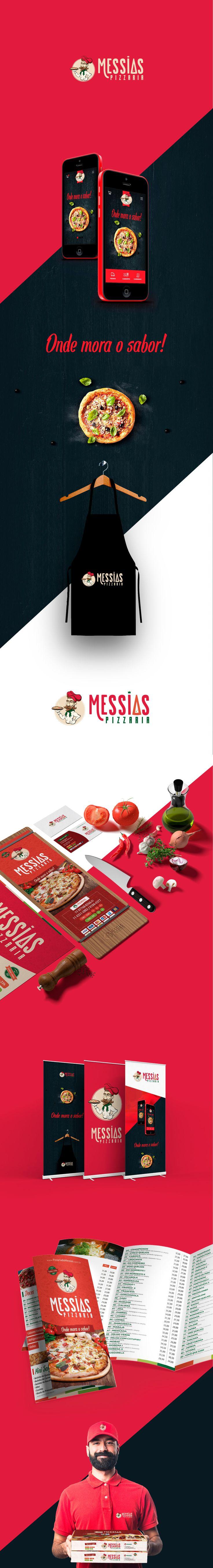 Pizzaria do Messias - Identidade Visual