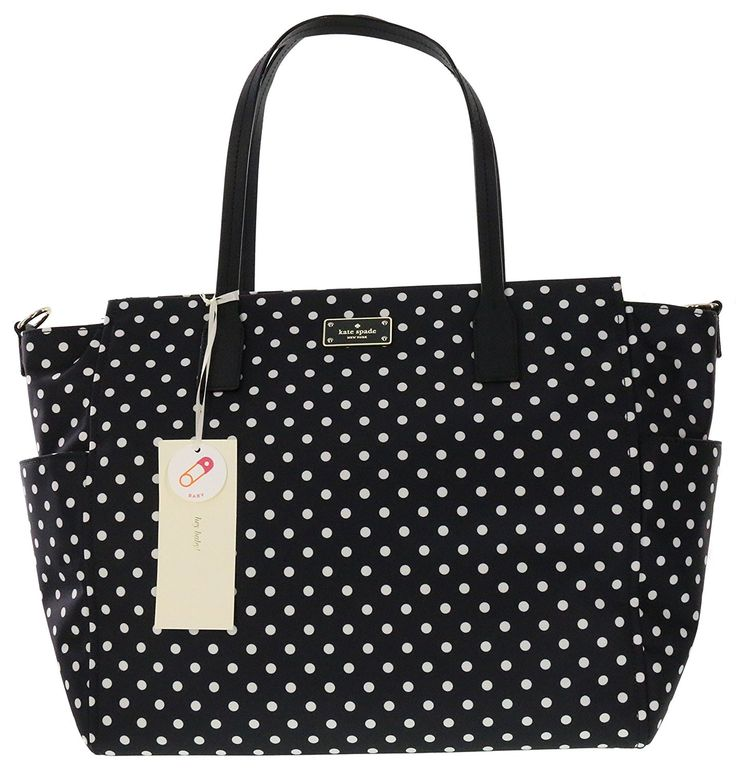 Kate Spade New York Blake Avenue Kaylie Baby Bag Diaper Bag (Diamond Dot)