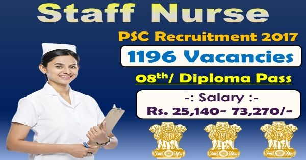 Good News !! State Public Service Commission (TSPSC) has published an Employment notification for the post of 1196 Staff Nurse Vacancies. All interested candidates are require to check eligibility details for Recruitment such as Pay Scale, Education Qualification, apply and selection process. For more detail advertisement check the links given below. No of Vacancies :-1196 …