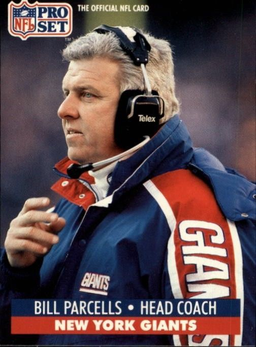 Bill Parcells #NYG aka the Tuna