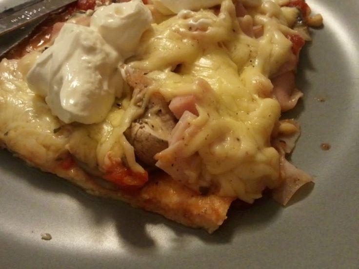Superenkel LCHF Pizza « Ingrids Blogg