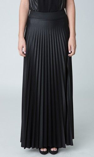Harper's Bazaar has named the pleated maxi skirt a spring 2014 necessity! Shop TheHouseofEleven.com's CARMEN Maxi Pleated Skirt here:  http://thehouseofeleven.com/product/carmen-long-pleated-skirt/ #PleatedSkirt #PleatedMaxiSkirt #MaxiSkirt #Pleated #Skirt #ProenzaSchouler #HouseofEleven #Houseof11 #Spring2014 #SpringFashion #SpringTrends #SpringRunwayTrends #SpringRTW #BlackSkirt #BlackPleatedMaxiSkirt #SatinSkirt #Chic #New #Trending #Fashion #StyleWatch #TrendWatch #Style