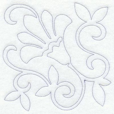 Free Printable Flower Embroidery Patterns | Available in three sizes: