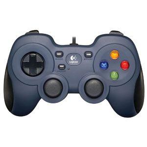 ロジクール|USBゲームパッド(ダークブルー)|F310r