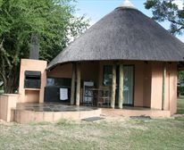 Luxury Riverside Bungalow at Skukuza Restcamp