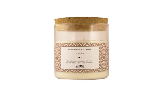 Mirins Candle - An Illuminating Candle Guide - Soy candles infused with essential oils for a natural, earthy smell. They burn very clean (meaning you don't get all the sooty smoke) and come in two sizes; the larger of which comes in a beautiful reusable jar. Recommended for when you need to destress after a long day!