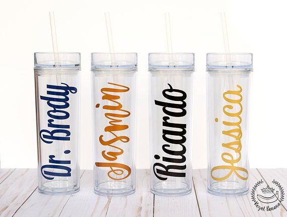 Cute gifts for Cheer squad - Skinny Tumblers -- Sorority Gift, Big Little Sorority Gift, Greek Gift, Christmas Gift, Cheerleading, Gymnastics