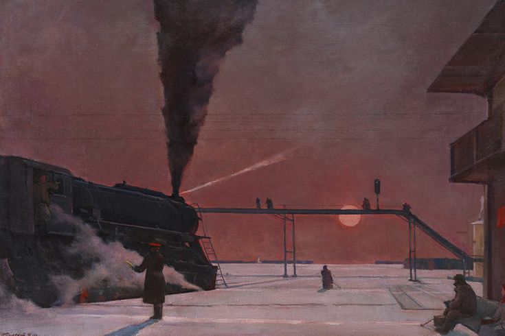 Георгий Нисский «В пути», 1958-1964Фото Института русского реалистического искусства