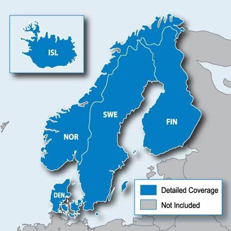Garmin Pohjoismaiden maantiekartta MicroSD | Scandinavian Outdoor
