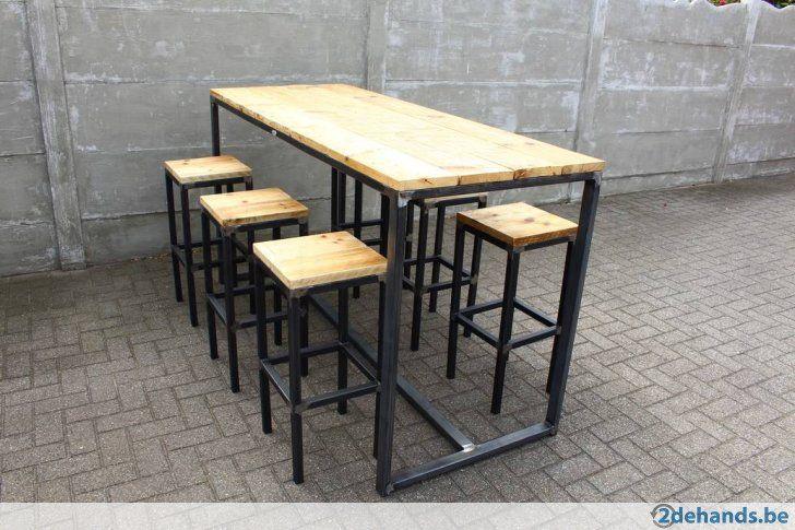 Wonderlijk Afbeeldingsresultaat voor steigerhout meubel tuin hoge bar tafel BQ-65