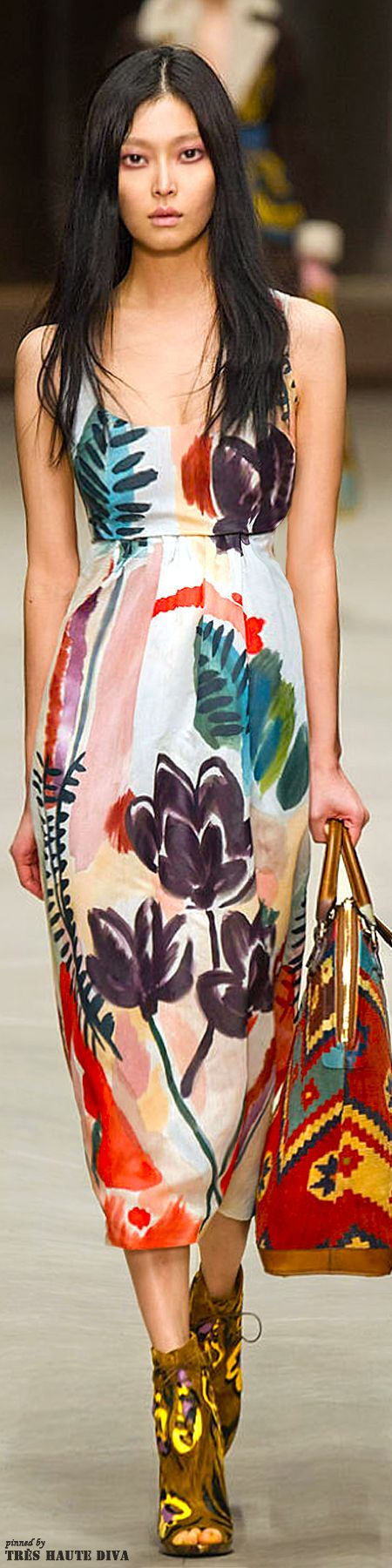 Burberry Prorsum F/W 2014 - London Fashion Week  Looks likes bloomsbury movement