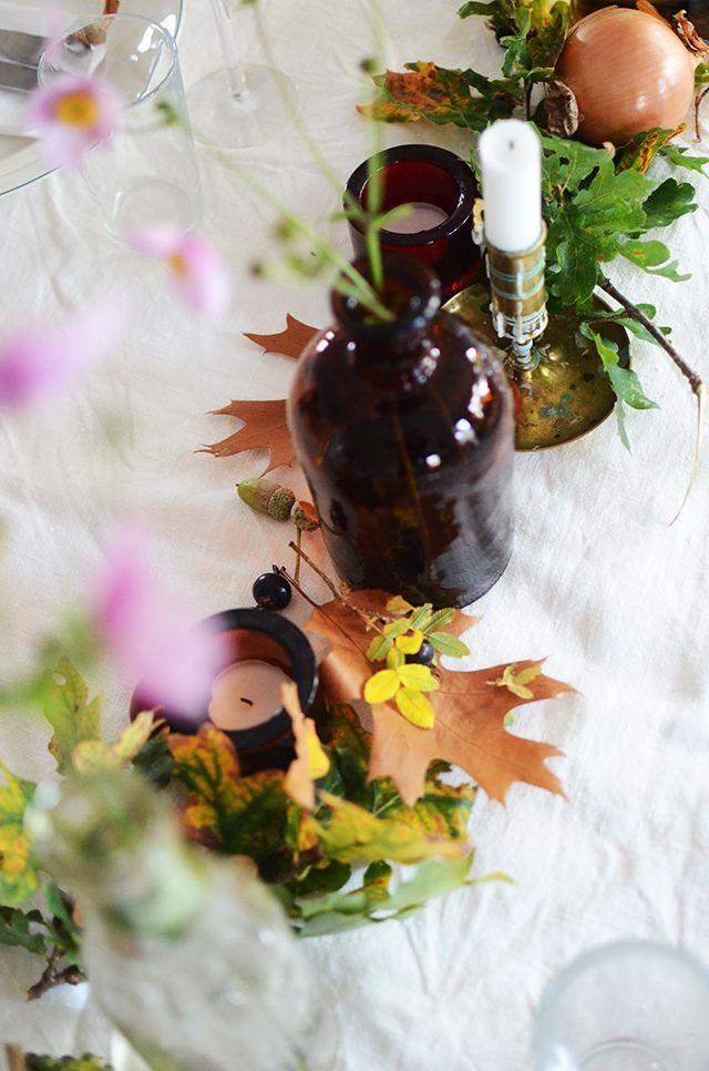 Höstdukning, tablesetting autumn Hemma med Helena | Bloggar om pyssel, mat, bak och hemmafix