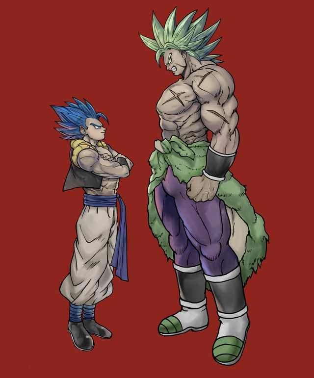 Gogeta 2018 Vs Broly 2018 Dragon Ball Super Goku Dragon Ball