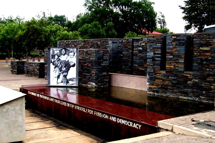 Memorial - Soweto Township - Johannesburg, South Africa