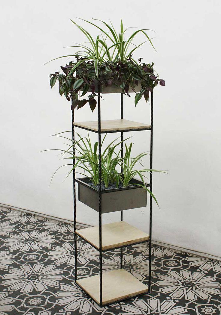 bm estudio, design de mobiliário, vaso trinca modular 4x1