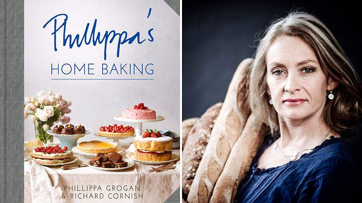 Phillippa's Home Baking by Phillippa Grogan and Richard Cornish. For bakers looking to up their skills with technical know-how, and sweet fans of all persuasions.