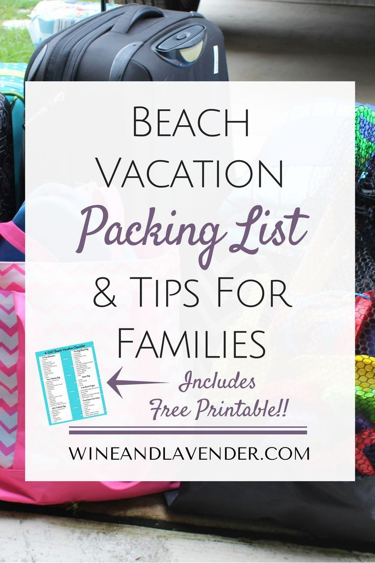 Best 25+ Beach Vacation Packing Ideas On Pinterest
