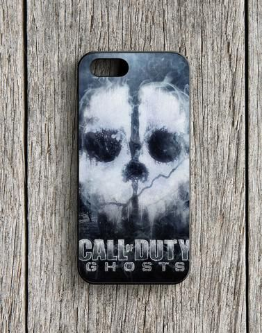 Call Of Duty Ghosts Black Poster iPhone 5 | 5S Case
