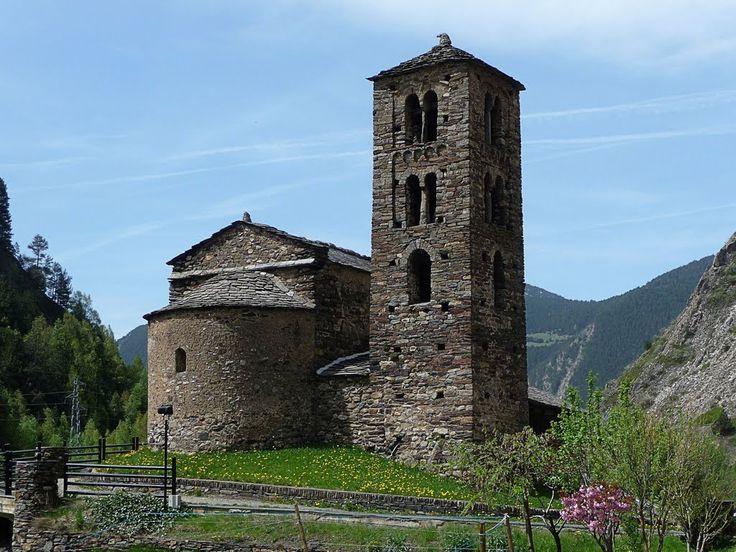 ESGLÉSIA DE SANT JOAN DE CASELLAS - Canillo - Andorra