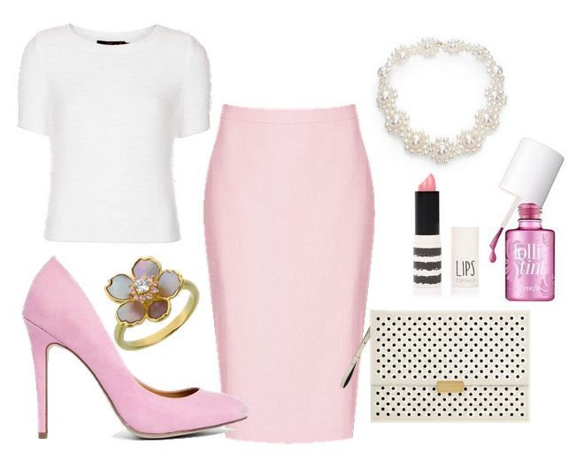 What to wear with pink shoes | ASOS Panorama pink court shoes> Shoeperwoman