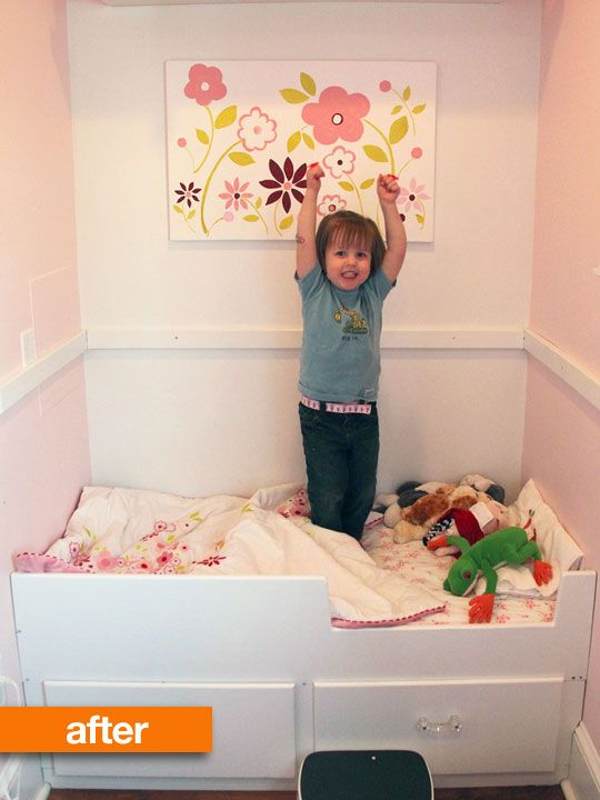 Kids Beds For Small Rooms 71 best crib nooks & kids rooms images on pinterest | crib in