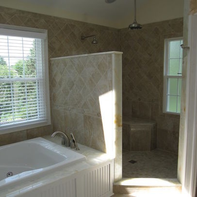 Bathroom Doorless Showers Design, Pictures, Remodel, Decor and Ideas
