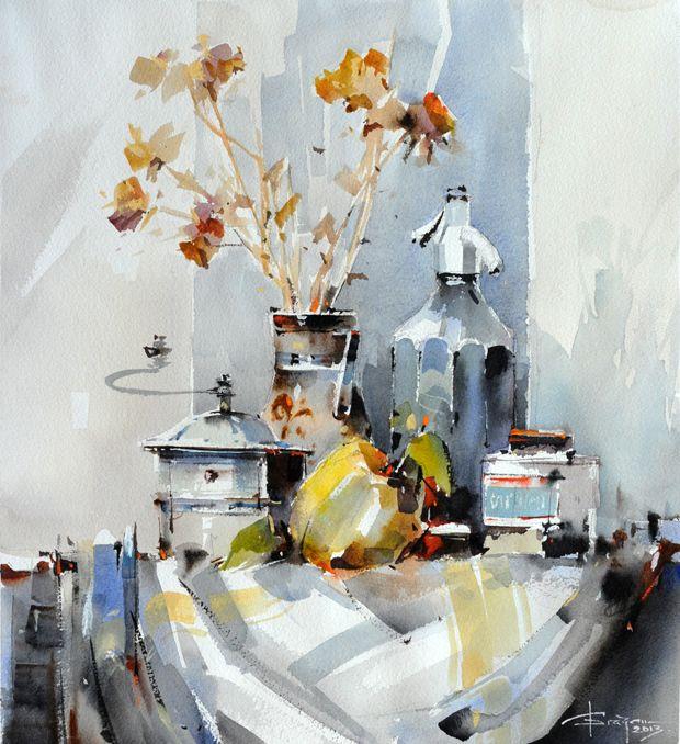 Watercolour-Acuarela-Corneliu-Dragan-Targoviste-natura-moarta-compozitie-25
