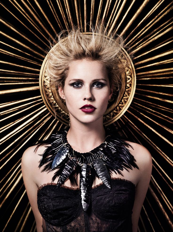 Claire Holt. She is so beautiful. I love her character growth on TVD/The Originals.