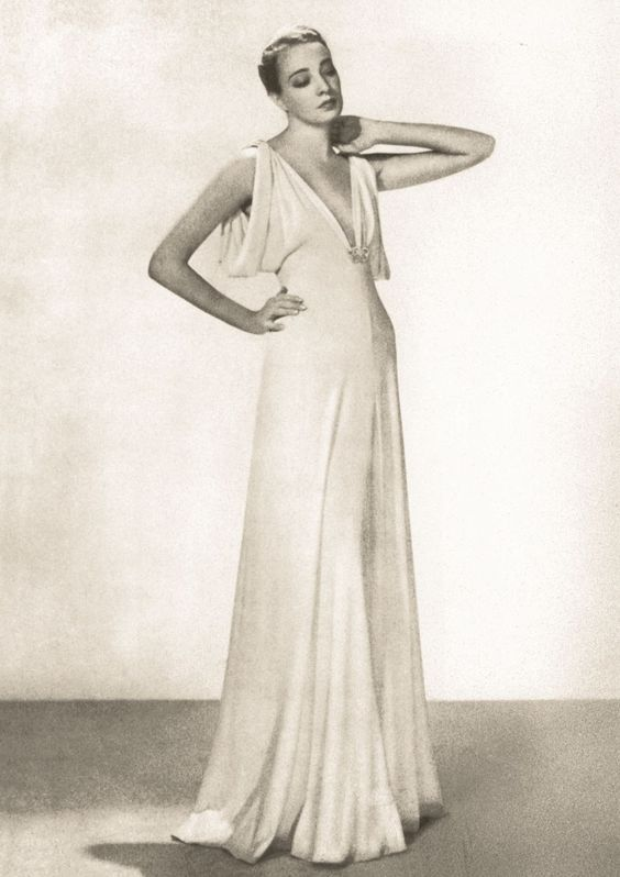 Madeleine Vionnet. Photo Man Ray 1937 for Vanity Fair