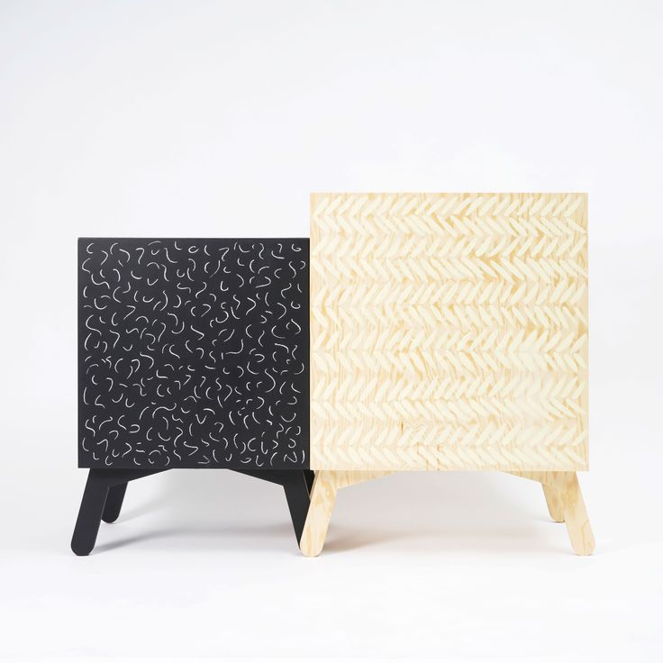 Hand painted Cabinets - Black and chalk, pine wood and pail yellow