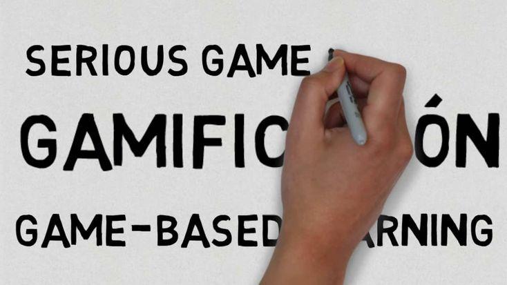 Diferencia entre gamificación, serious game, y game-dased learning #Gamificacion #Educacion