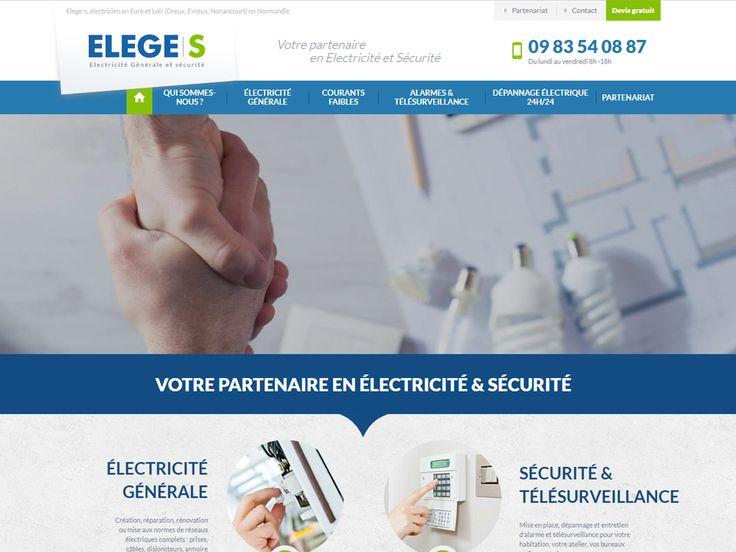 Besoin d'une électricien près de Dreux, Evreux ou Nonancourt ? Découvrez ELEGES en Eure et Loir spécialisé en Électricité Générale, Alarme et Télésurveillance