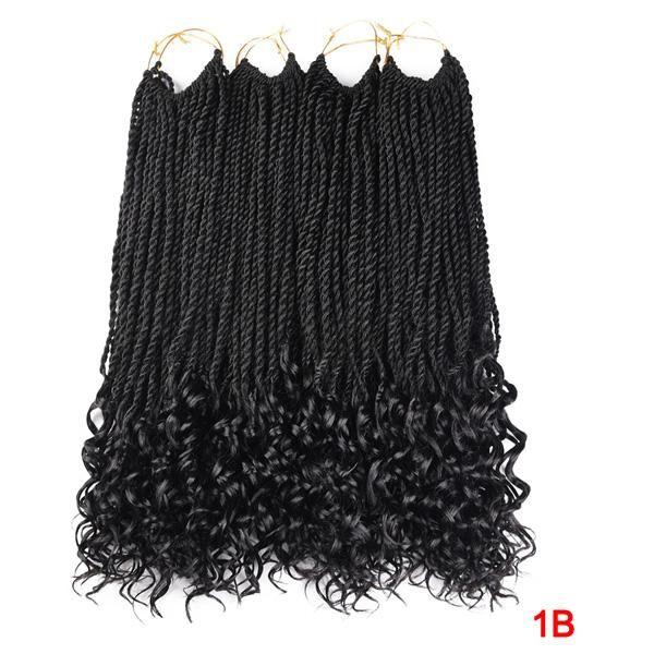 New Tomo 18inch 30roots Curly End Senegalese Twist Crochet Braids S Braided Hairstyles Braided Hairstyles For Black Women Box Braids Hairstyles For Black Women Twisted moe ent llc, thibodaux, louisiana. pinterest