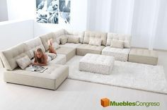 Sofás modulares Fama Arianne, sofá diseñado a tu medida - Muebles del Hogar, Sillones y Sofás Tapizados, Tapizados Modernos - Muebles Congreso Telde