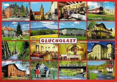 Pocztówkowe podróże po Polsce: GŁUCHOŁAZY